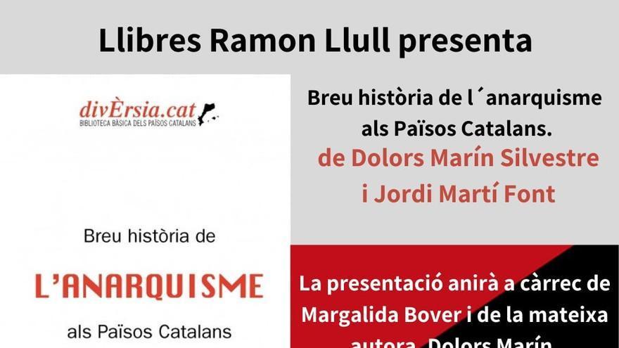 Dolors Marín presenta 'Breu història de l'anarquisme als Països Catalans'