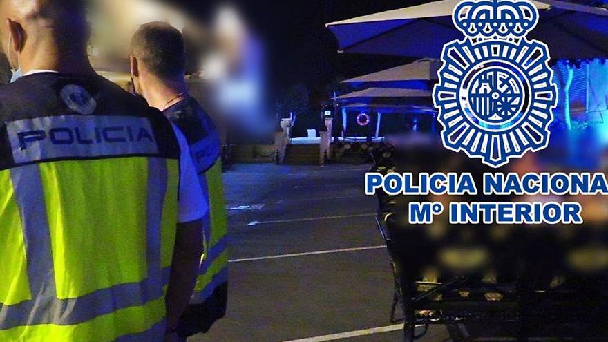 La Policía puso 829 multas en agosto por fiestas ilegales o botellones en Alicante