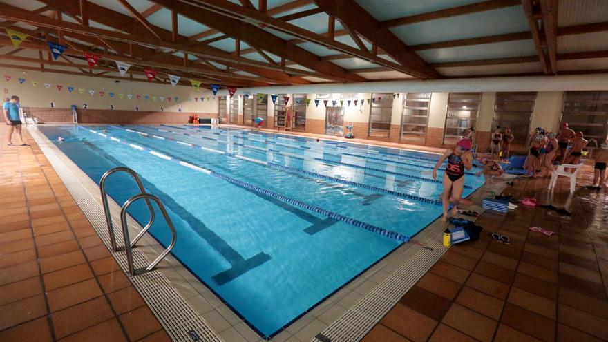 Cs denuncia que el cloro de la piscina del Palau está por debajo del nivel establecido