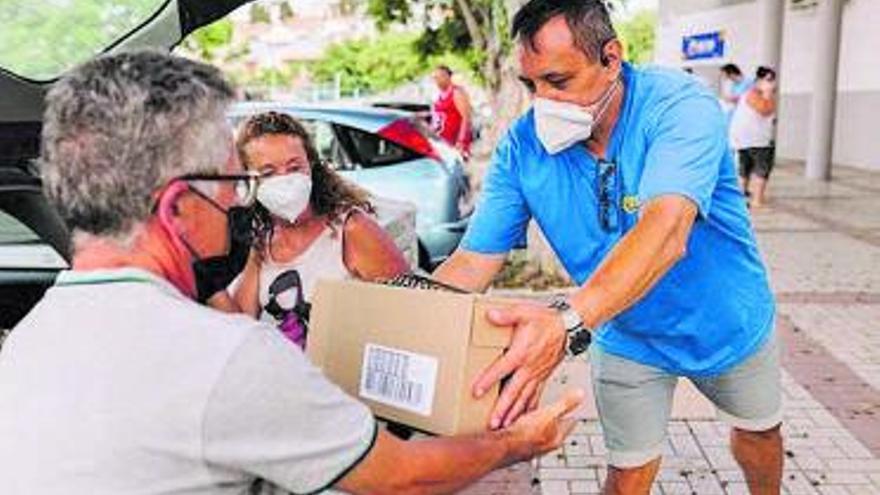 La ONG Inpavi repartirá 70.000 kilos de alimentos este fin de semana