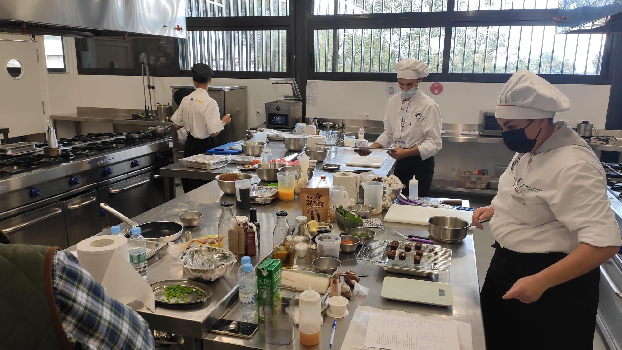 El campeonato Balearskill de cocina toma la Part Forana