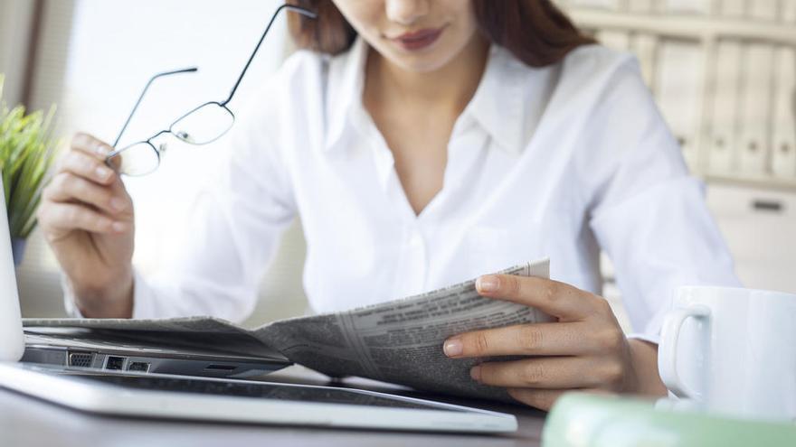 Uno de cada cuatro lectores se informa a través de un periódico de Prensa Ibérica