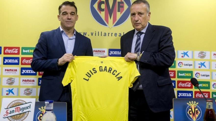 Reencuentro con morbo entre Luis García y el Villarreal