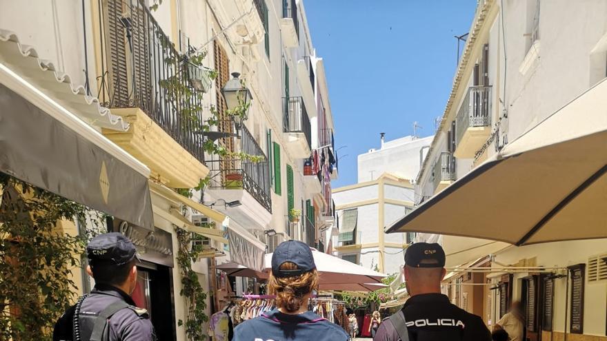 Patrullas conjuntas en Ibiza de la Policía Nacional con la Policía Italiana y Alemana
