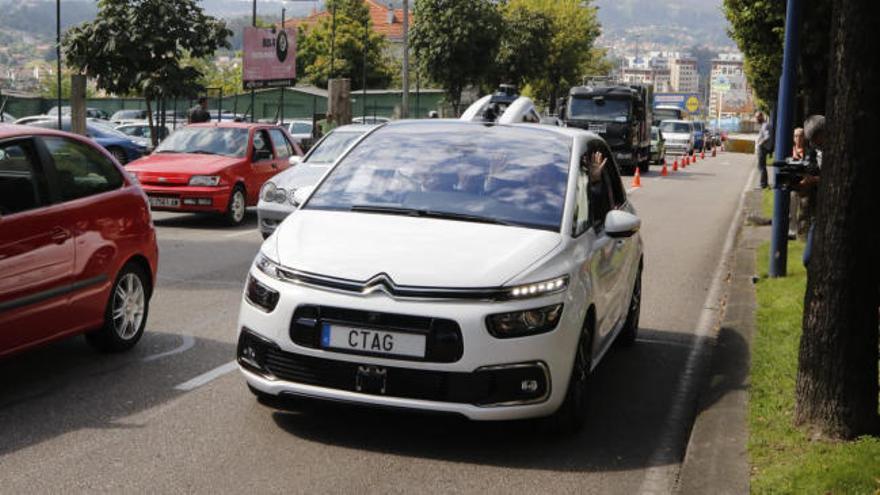 El coche autónomo en Vigo se hace realidad
