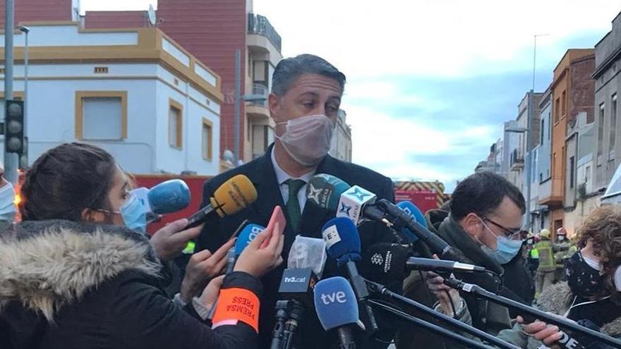 García Albiol señala que diez minutos antes del incendio de Badalona hubo un control policial