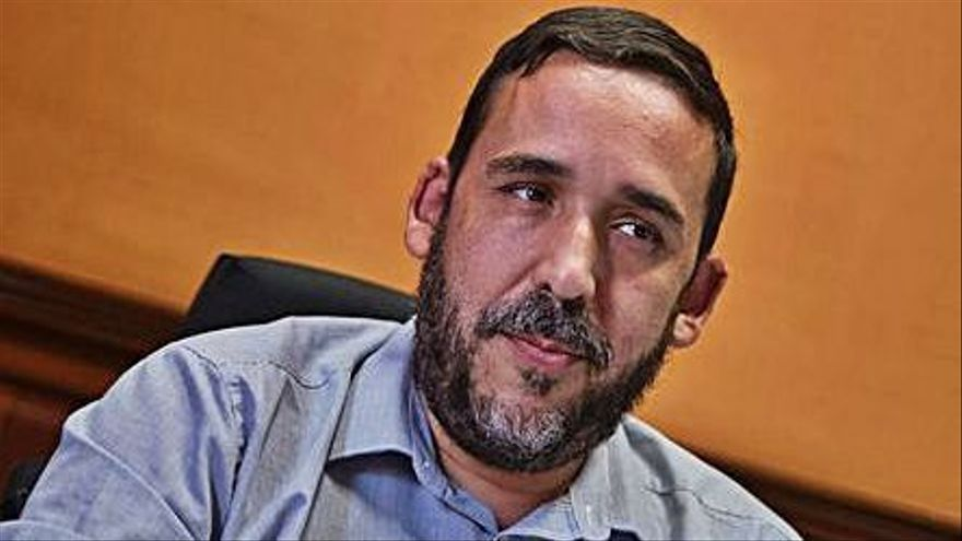 Rubens Ascanio, concejal de Bienestar Social.