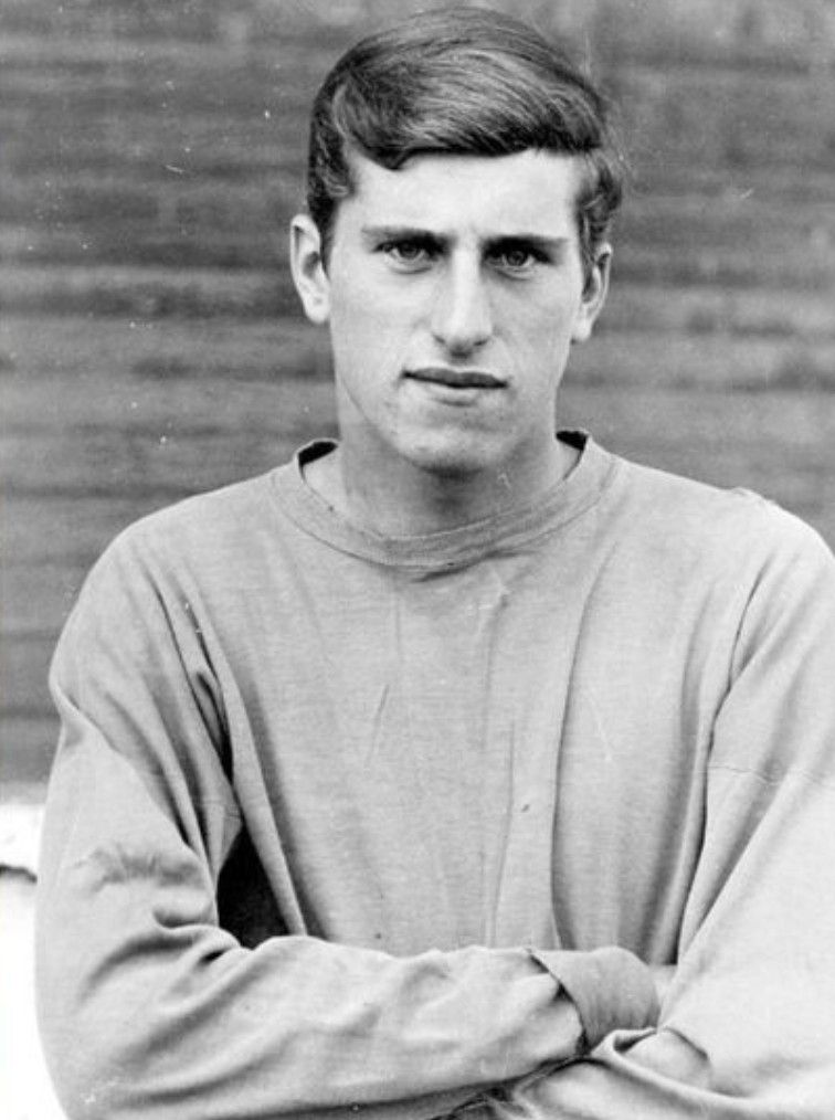 El joven Clemence, poco después de su llegada a Anfield con 19 años.
