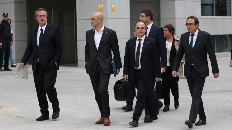 Así es la rutina diaria en prisión de los exconsejeros catalanes