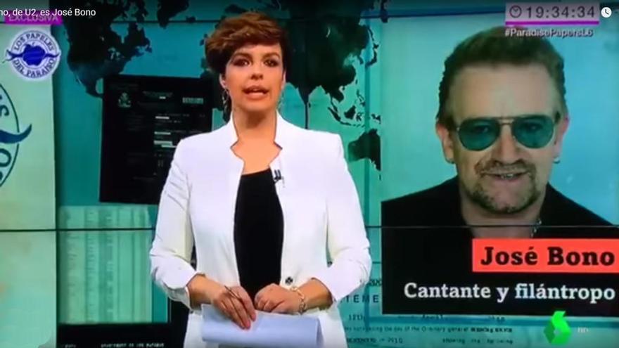 La Sexta se lía y confunde a Bono de U2 con el socialista José Bono