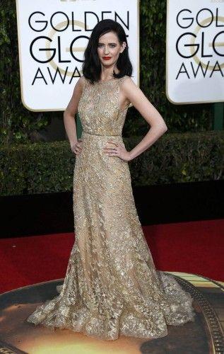 Eva Green arrives at the 73rd Golden Globe Awards in Beverly Hills