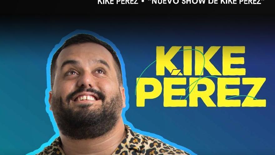El humor de Kike Pérez en el Teatro El Sauzal