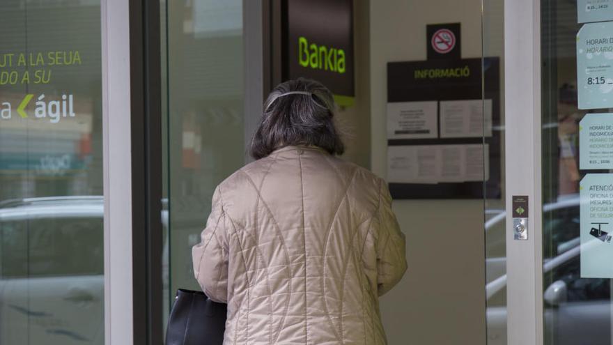 Bankia adelanta al 22 de mayo el abono de las pensiones
