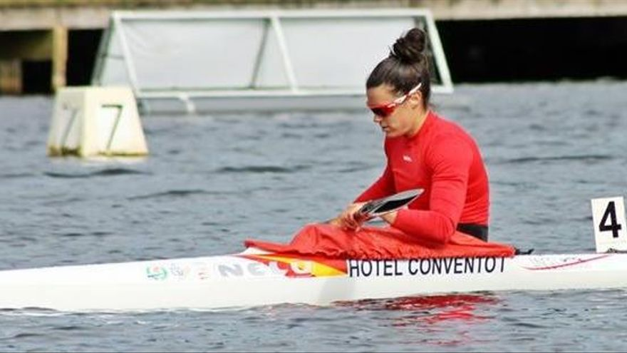 Laura Pedruelo, oro en la Copa España de K1 500
