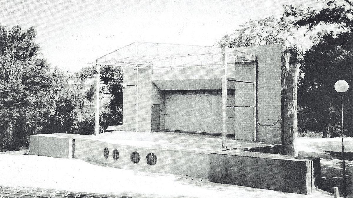 El Rincón de Goya construyó su anfiteatro a mediados de los 80.