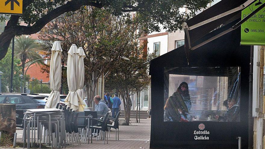 La Policía inspecciona las terrazas ante las numerosas quejas de incumplientos