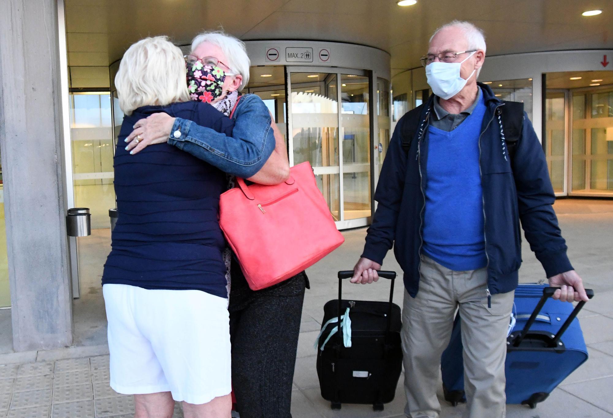 Corvera recibe el primer vuelo de Reino Unido en seis meses