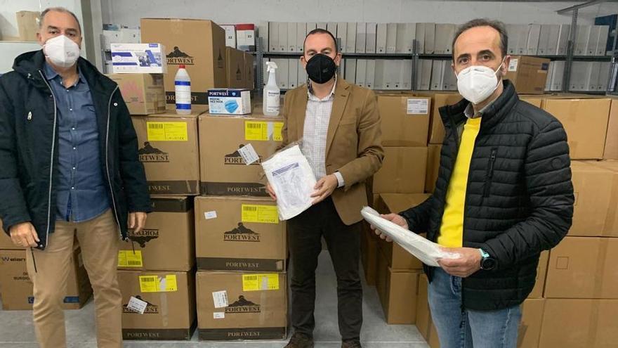 La Diputación de Zamora adquiere más de 100.000 mascarillas para sus trabajadores