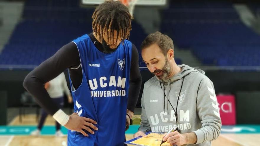 El UCAM visita al Real Madrid con la duda de Webb