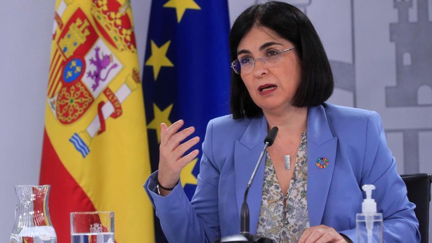 Rueda de prensa de Carolina Darias tras el Consejo Interterritorial