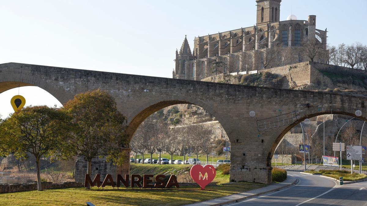 El PontVell de Manresa, un dels atractius turístic de la ciutat.