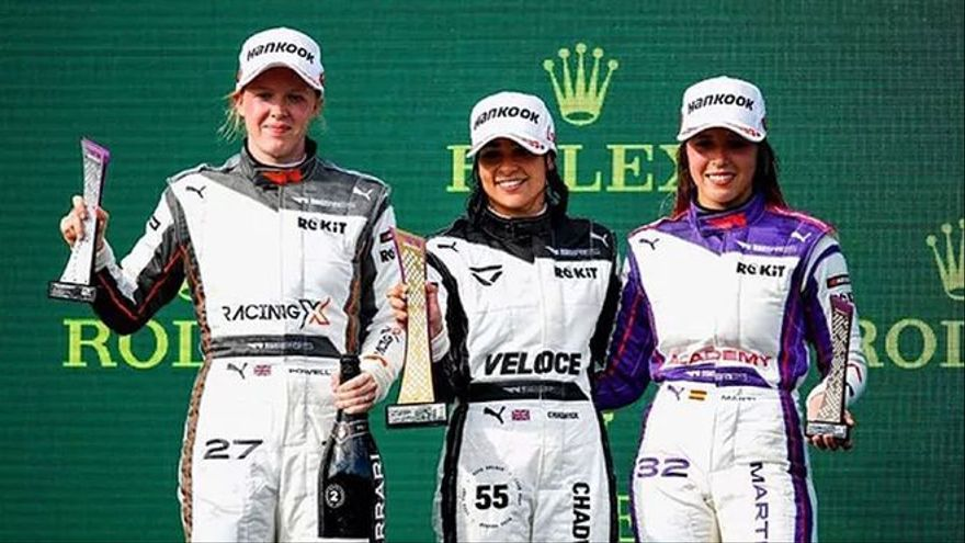 Nerea Martí logra su primer podio en Hungría