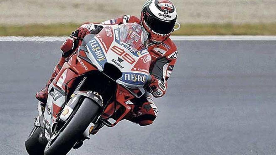 Jorge Lorenzo no correrá en Motegi