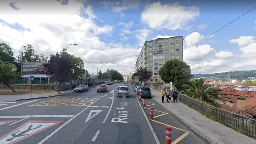 Una mujer de 37 años muere atropellada en un paso de peatones en Ourense