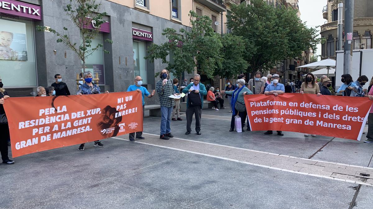 Imatge de la manifestació