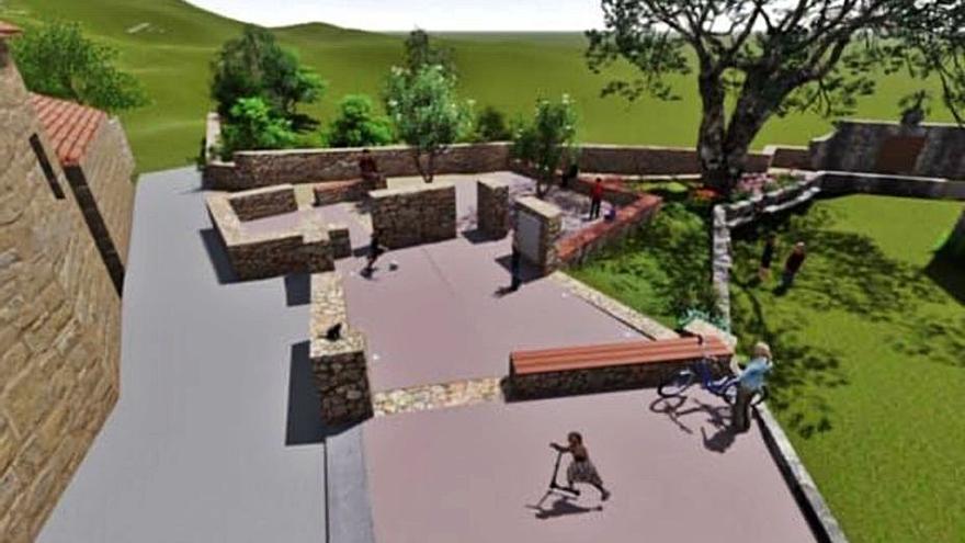 Inician los trámites para la construcción de una plaza en San Xurxo de Sacos