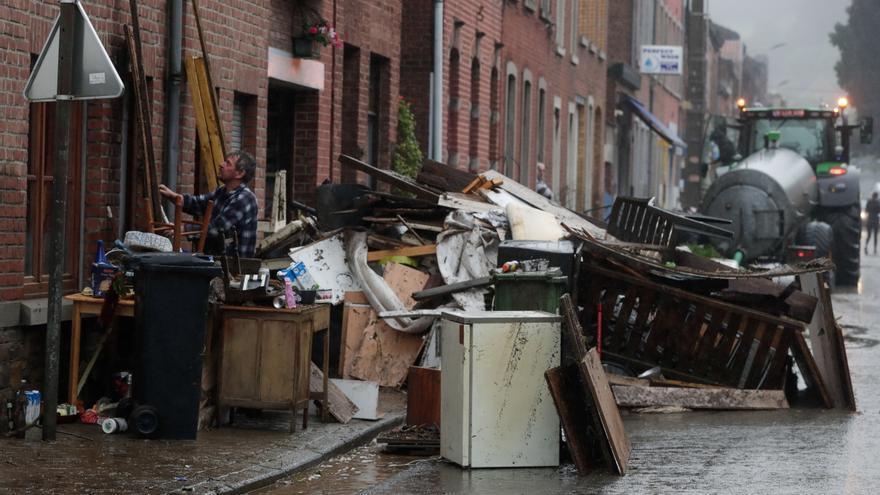 Siguen las inundaciones en Bélgica, Luxemburgo, Suiza y Turquía