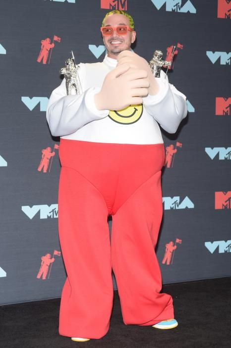 J Balvin, en los MTV Video Music Awards 2019