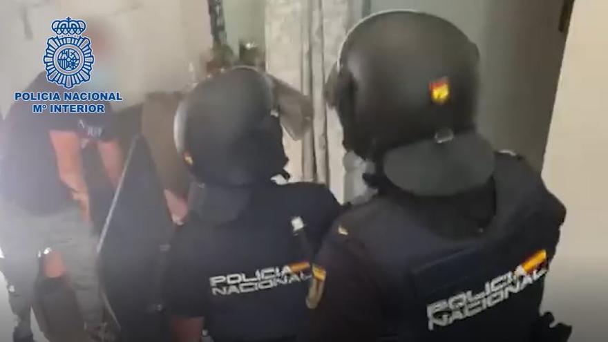 Operación contra la prostitución en Teatinos y el Centro de Málaga