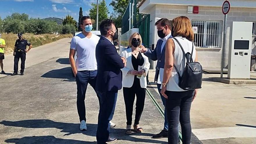 El COR inaugura el nuevo ecoparque fijo de l'Olleria con instalaciones readaptadas