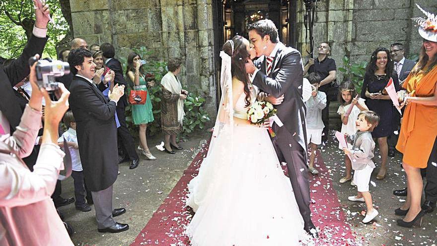 La pandemia redujo a la mitad el número de bodas en Oleiros el año pasado