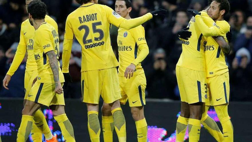 Al Madrid le sienta mal París