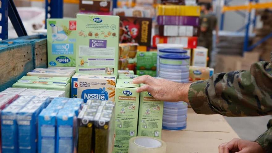 El Gobierno inicia el reparto en Córdoba de 587.601 kilos de alimentos a 36.110 personas en exclusión