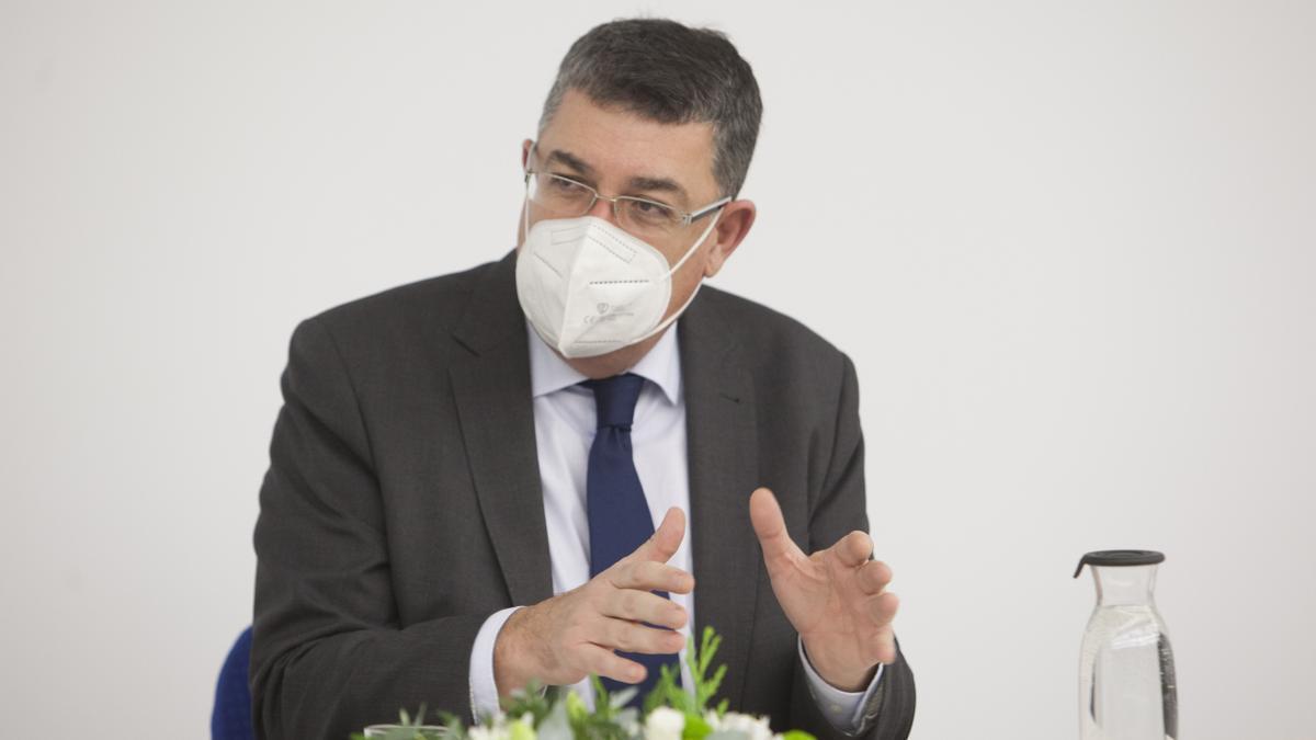 El president de les Corts Enric Morera.