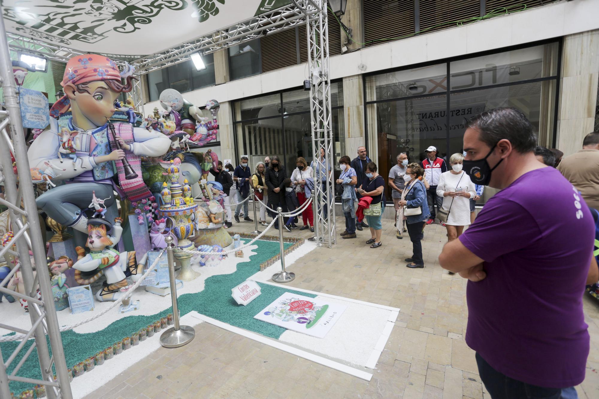 Entrega de Premios de Fallas en Alzira y ambiente fallero
