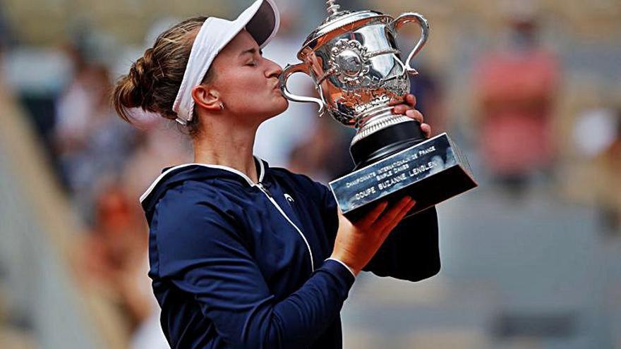 Krejcikova guanya el Roland Garros