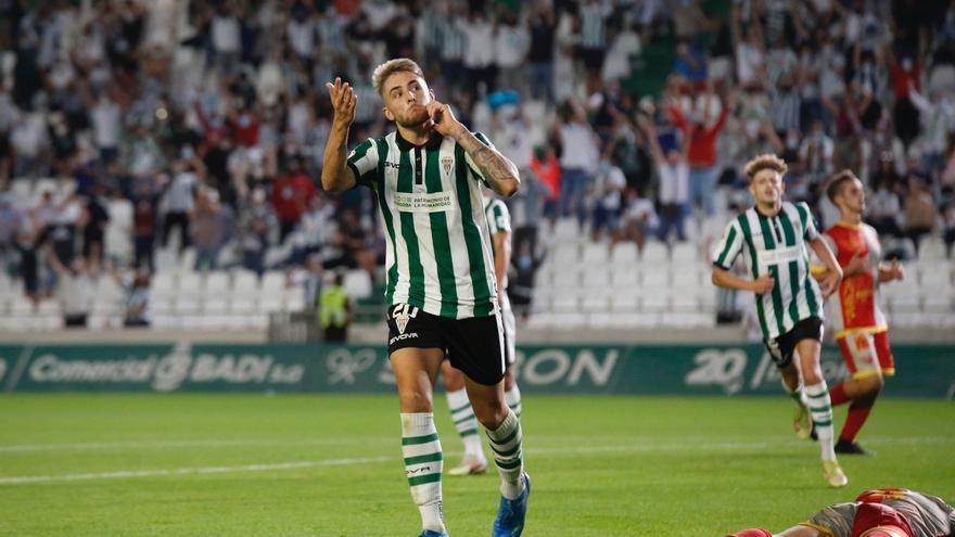 Antonio Casas mantiene su idilio con el gol en el Córdoba CF