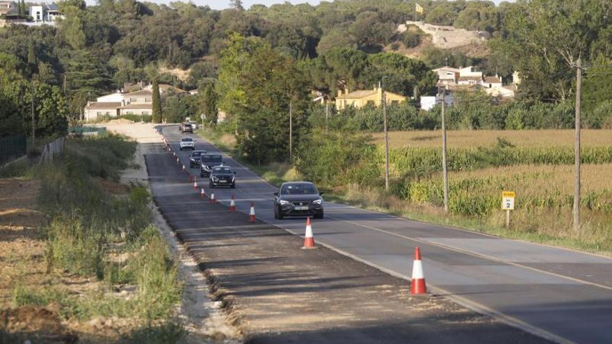 El Govern inverteix 45 milions a millorar carreteres gironins