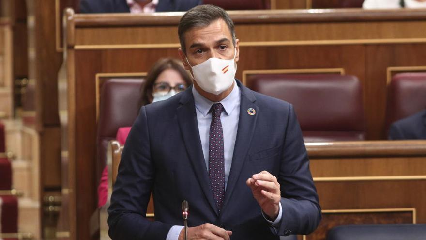 Sánchez interviene ante la crisis de Madrid por el virus