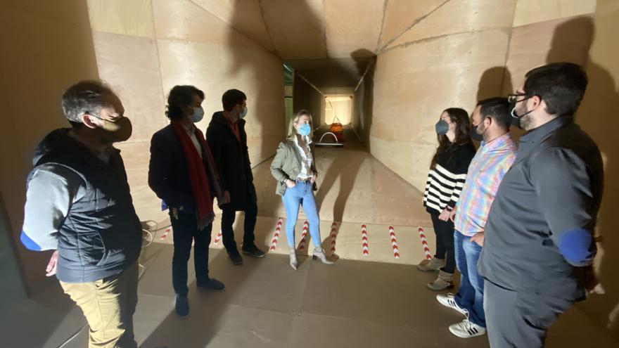 La Escuela Politécnica de Mieres estrena un túnel de viento