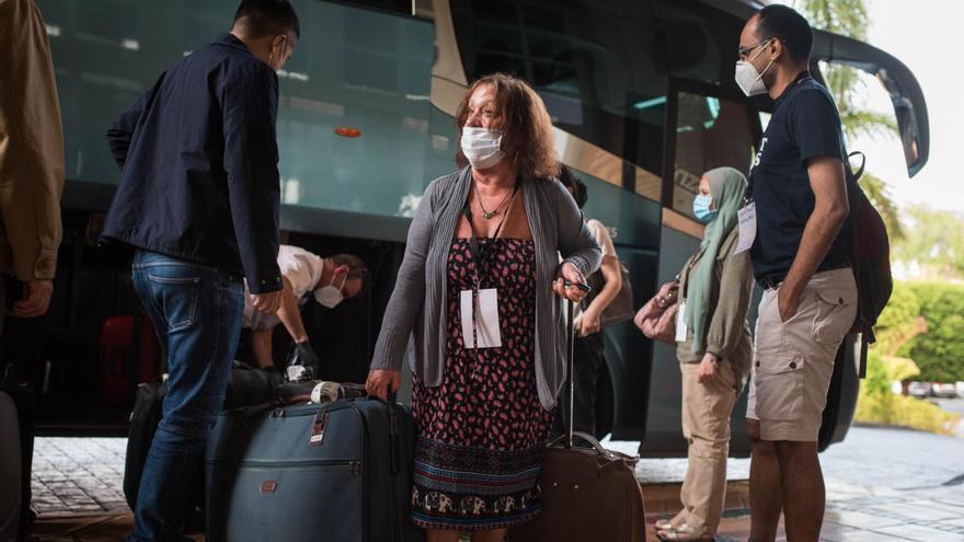 Cinco miembros de la OMT que visitaron La Gomera se negaron a hacerse la prueba del coronavirus