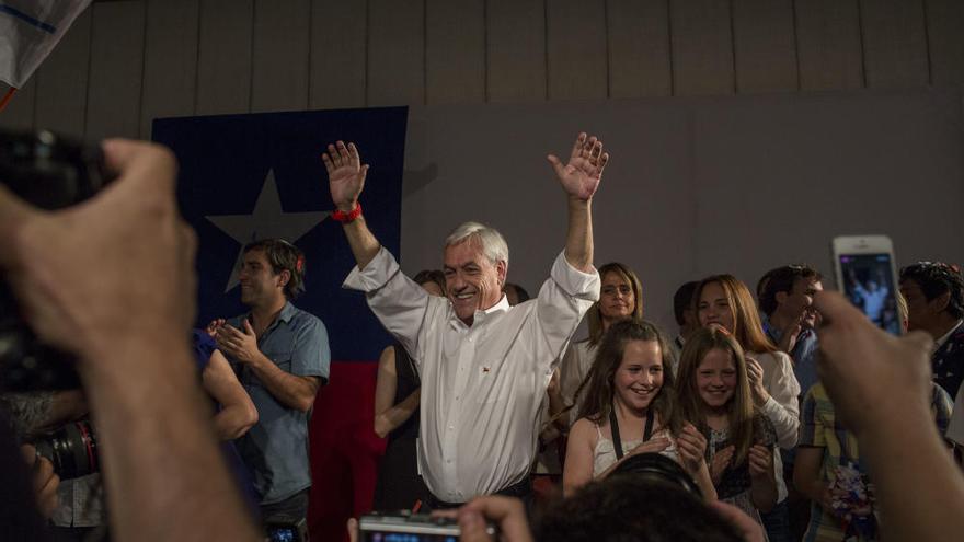 Piñera gana las elecciones chilenas y se enfrentará a Guillier en la segunda vuelta