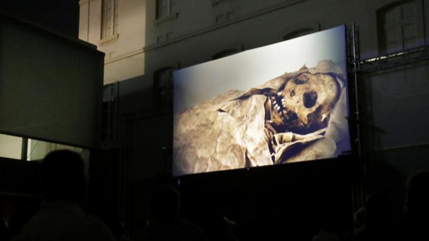 Presentación del documental de las momias guanches