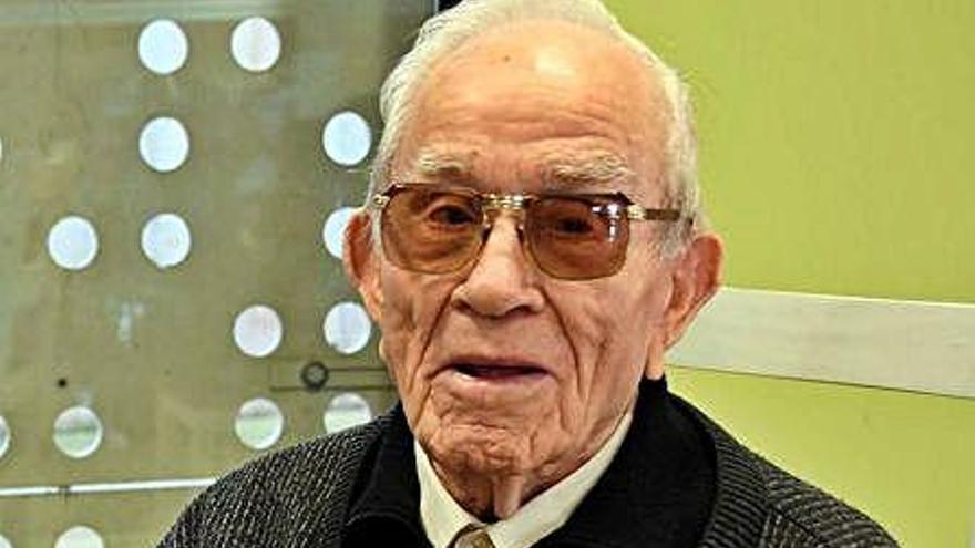 Mor als cent anys Antoni Vives Masip, supervivent de la Lleva del Biberó