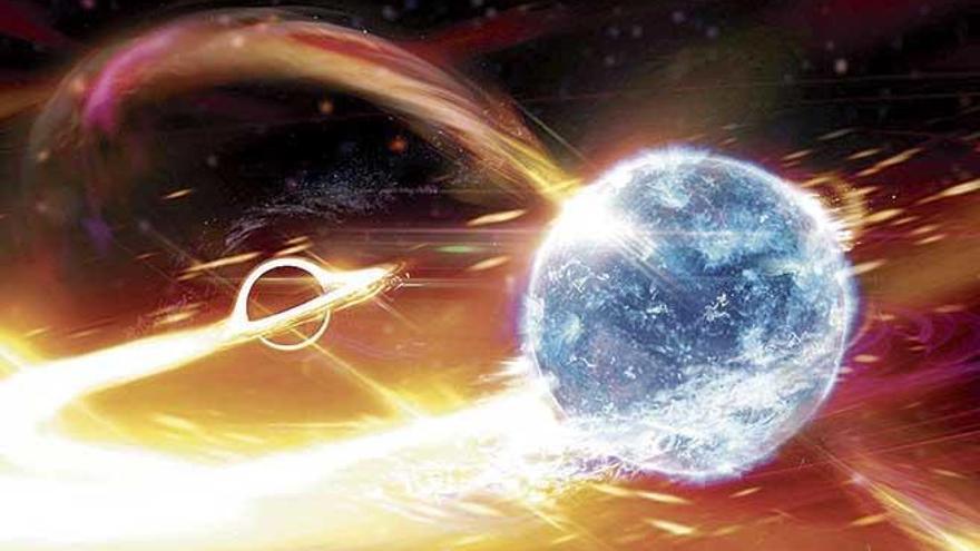 La UIB colabora en un hallazgo sobre la fusión de un agujero negro