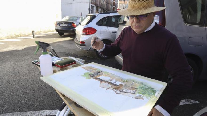 Los artistas ocupan las calles de Corvera con sus lienzos